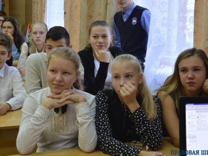 Встреча с Владимирскими школьниками