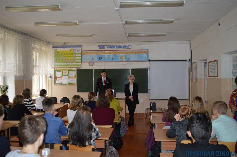 Профилактическое занятие в Меленковском районе